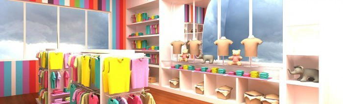 aprire un negozio di abbigliamento per bambini - bianco lavoro - Arredamento Negozio Abbigliamento Fai Da Te