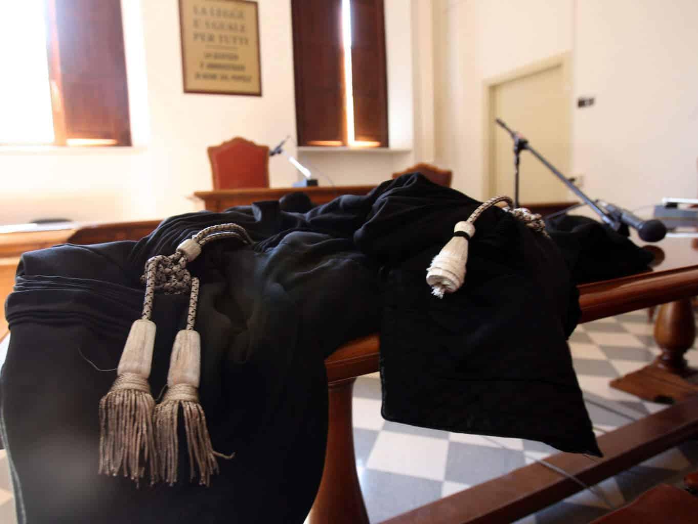 Toghe in tribunale