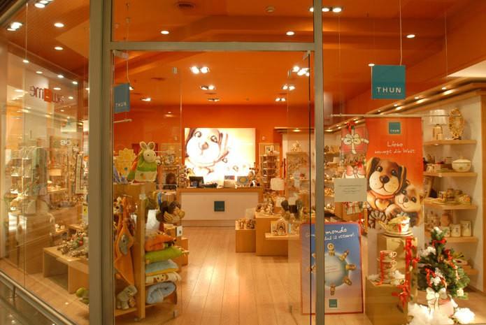 Lavoro negozi Thun