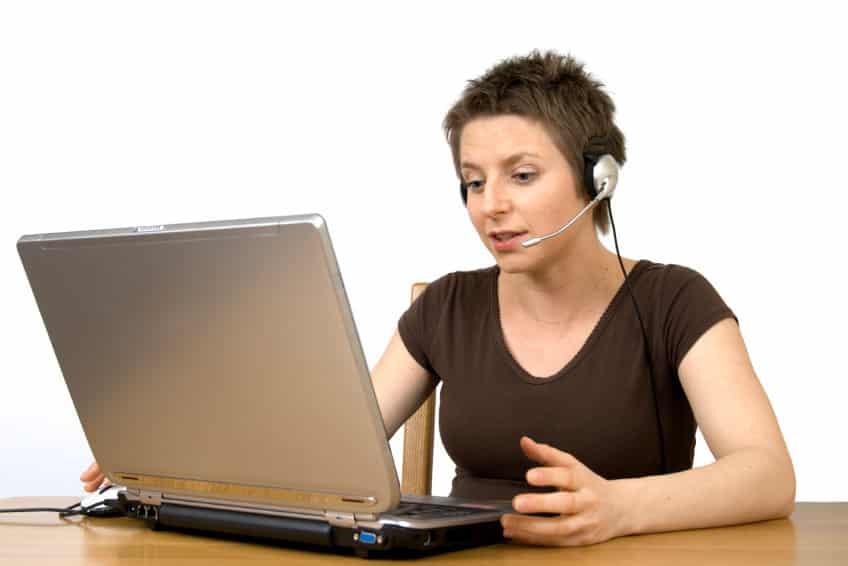 colloquio di lavoro tramite Skype