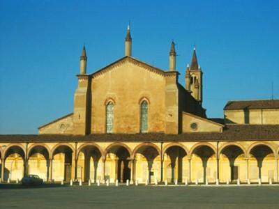 la piazza di Curtatone, Mantova