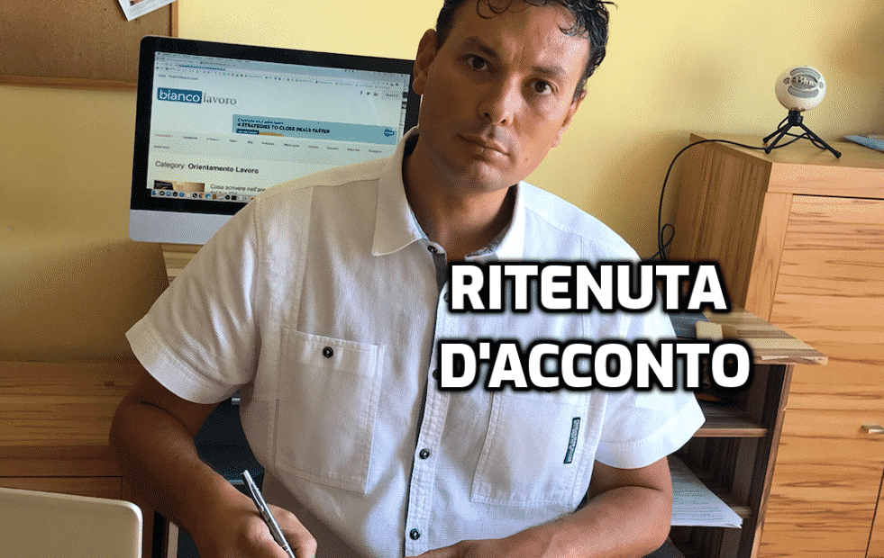 ritenuta d'acconto