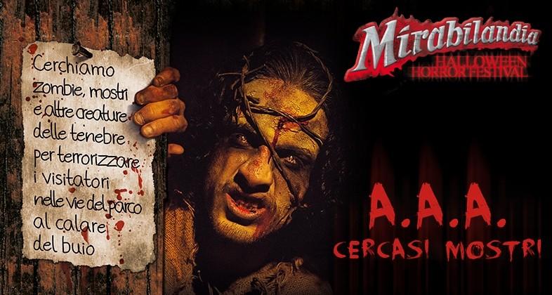 Casting Mirabilandia Halloween