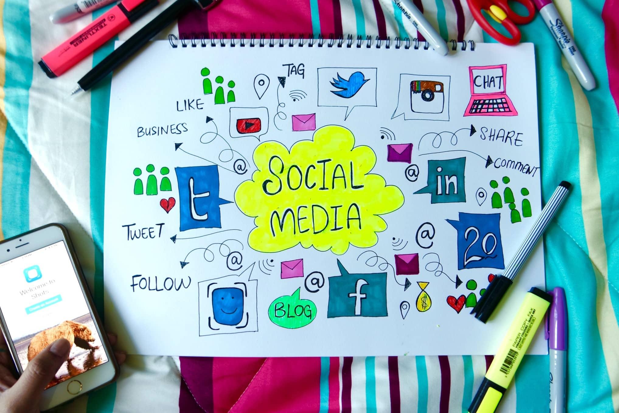 promuoversi con i social