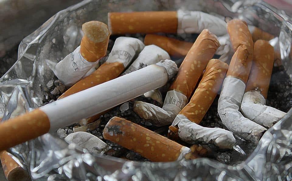 fumare sul posto di lavoro