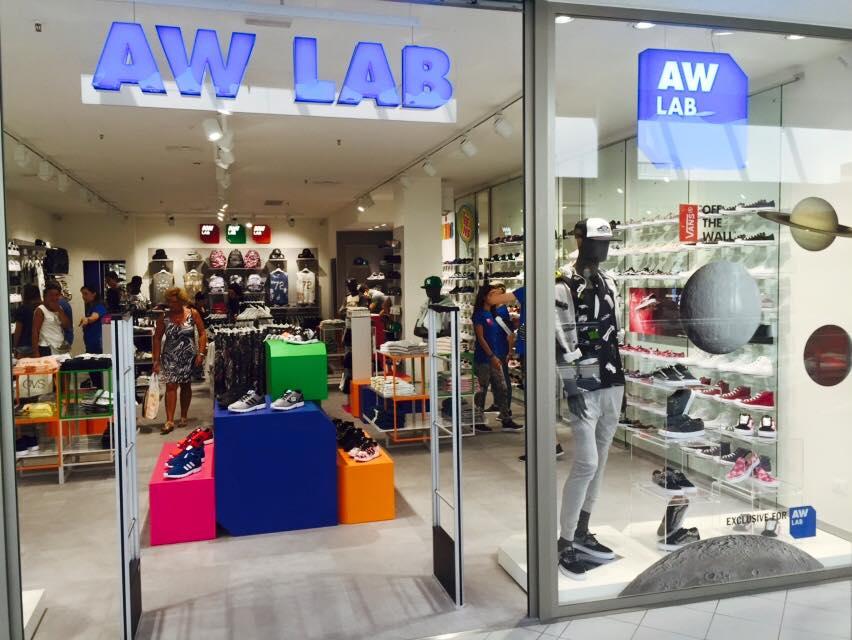 franchising scarpe aw lab