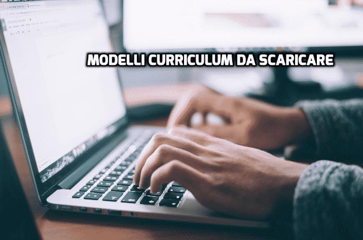 modelli curriculum vitae