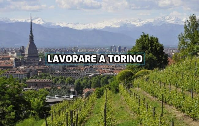 lavorare a Torino