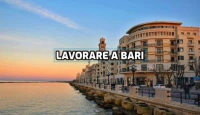 lavorare a Bari
