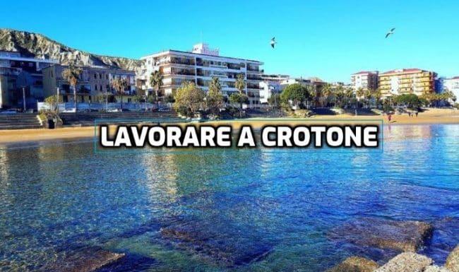 lavorare a Crotone