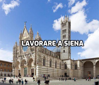 lavorare a Siena