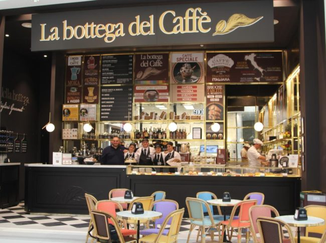 Bottega del caffè franchising