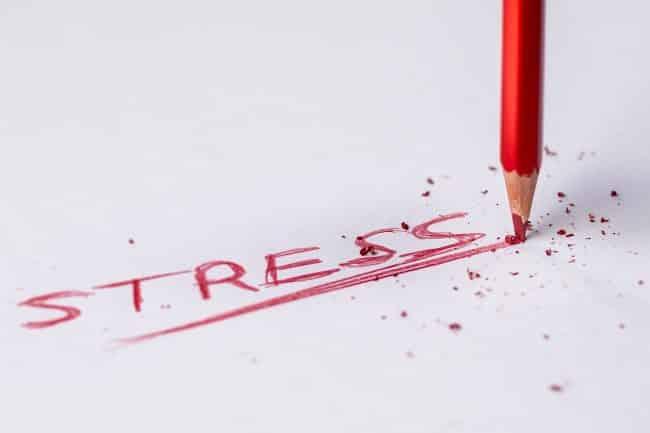stress e ansia uomini a causa del lavoro