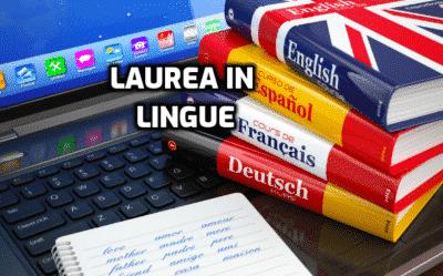 laurea in lingue