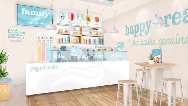 Yogurtlandia franchising