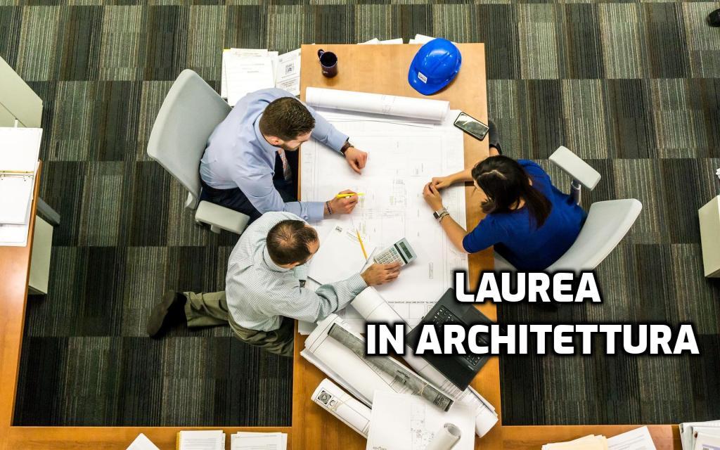 laurea in architettura