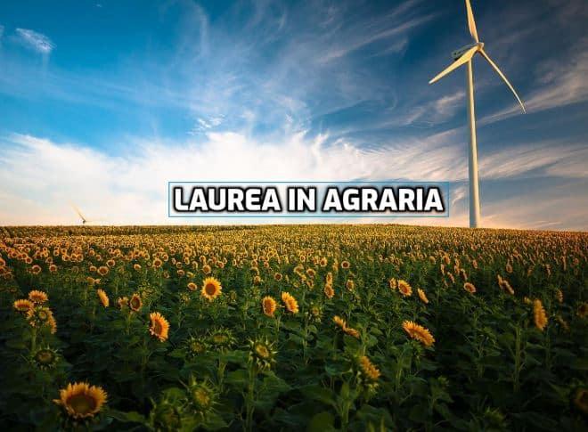 Laurea in agraria