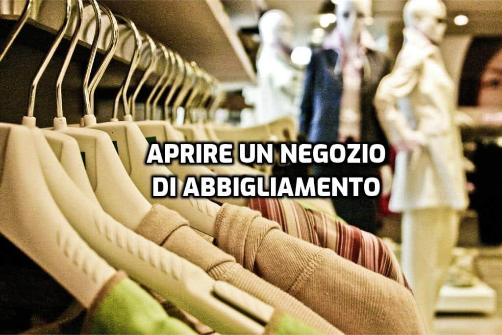 aprire un negozio di abbigliamento