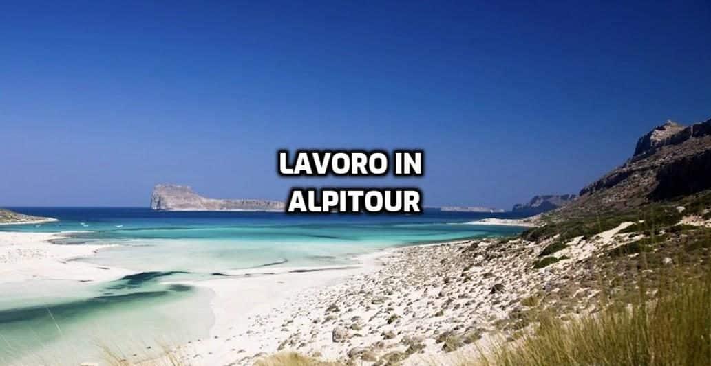 Alpitour lavora con noi