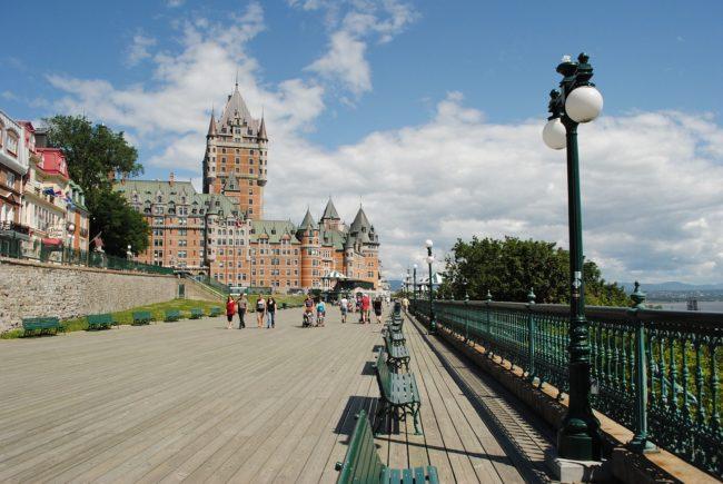 vivere in Québec