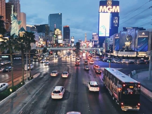 vivere a Las Vegas