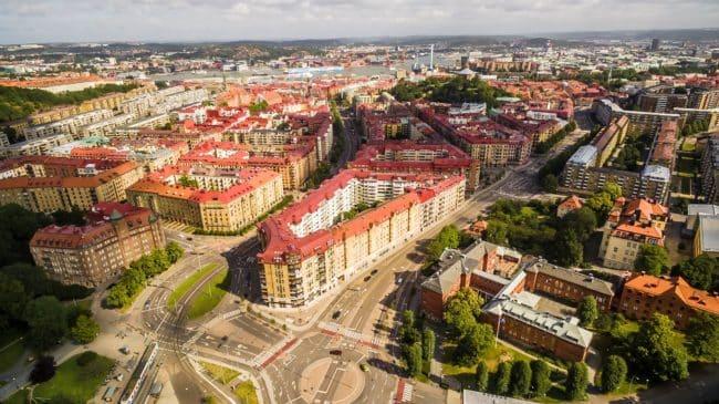 vivere a Göteborg