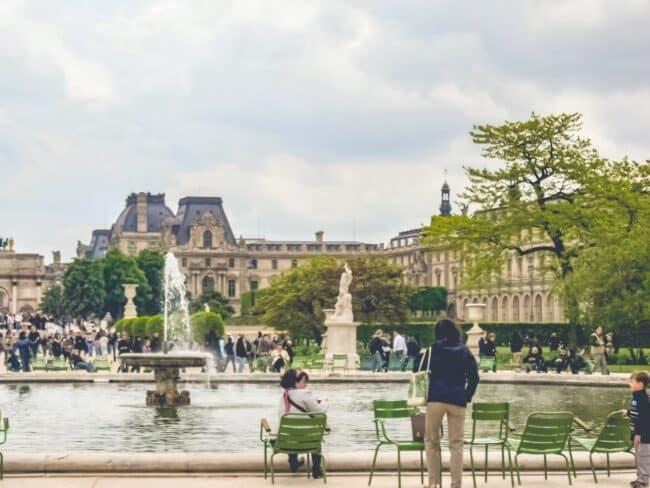 vivere a parigi