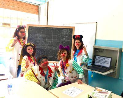 clownterapia a scuola